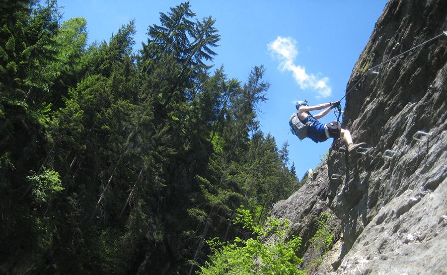 Klettersteig Bavaria : Walser klettersteig fixpreis ab euro die bergschule